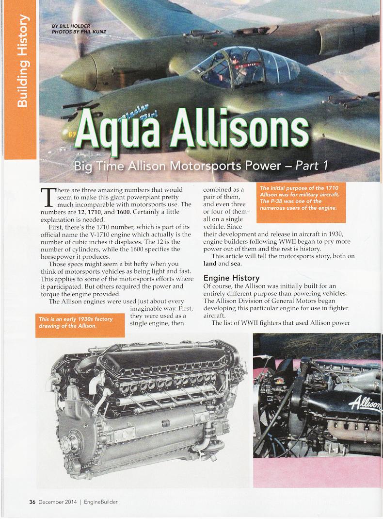 Aqua Allisons