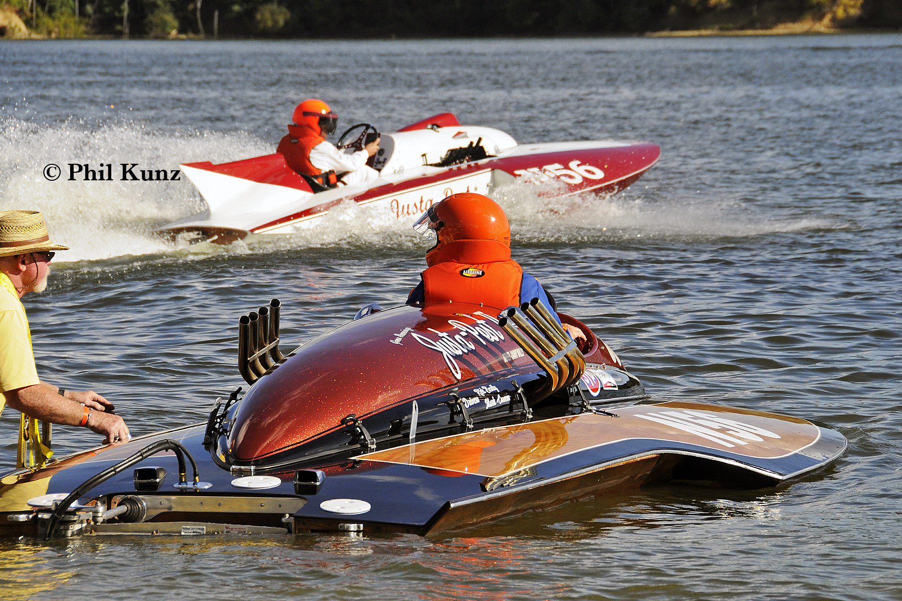 Dedicated to inboard, limited-class hydroplanes