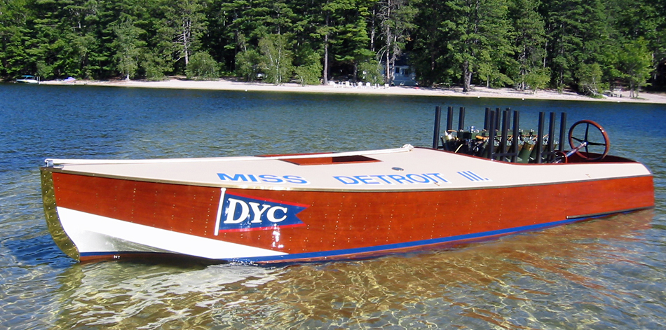 Vintage Hydros Race Boats