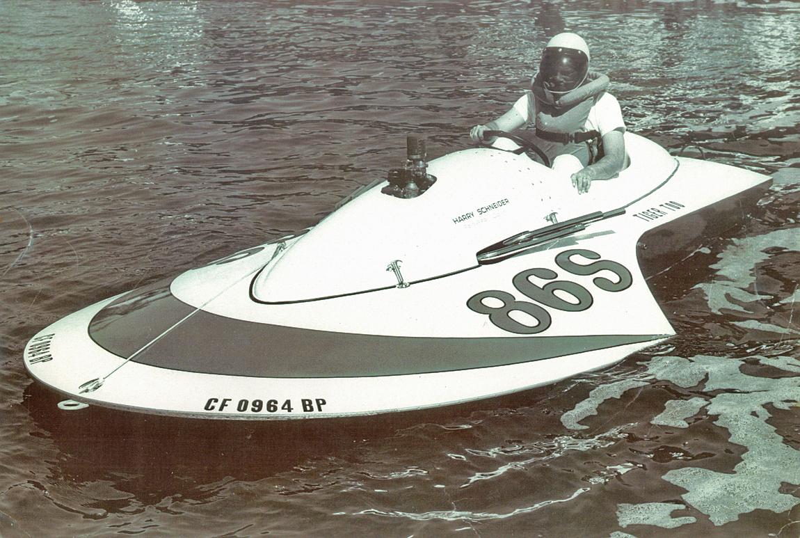 Ron Jones - Vintage Hydroplane Plans